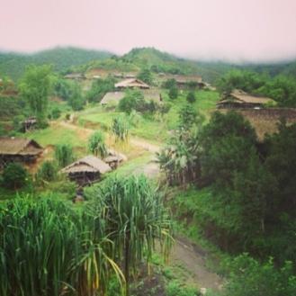 A hamlet in Tirbin