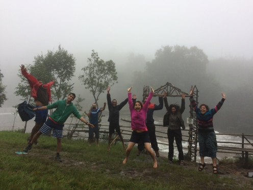 Moments from TagAlong backpackers trip to Meghalaya!