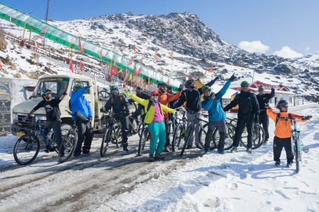 Ride the Silk: Riding throuh the Silk Route in Nathula, East Sikkim