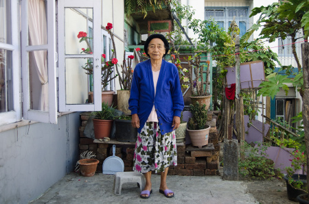 85 year old mizo woman