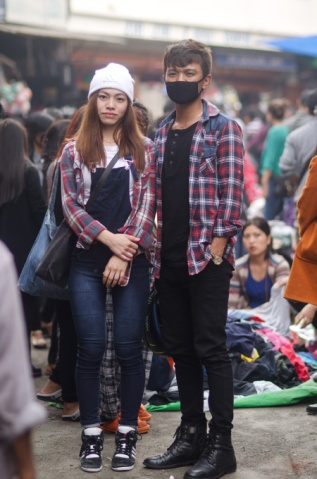 Ricky and girl Aizawl
